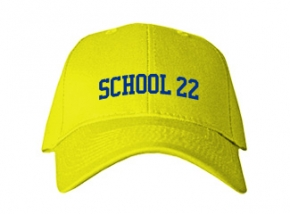 School 22 Kid Embroidered Baseball Caps