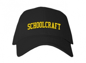 Schoolcraft High School Kid Embroidered Baseball Caps