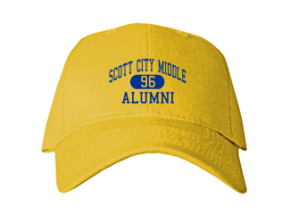 Scott City Middle School Embroidered Baseball Caps