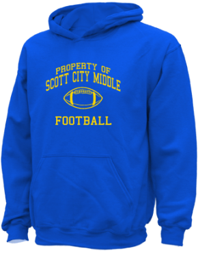Scott City Middle School Kid Hooded Sweatshirts