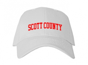 Scott County High School Kid Embroidered Baseball Caps