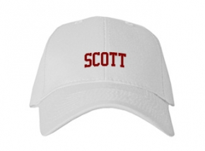 Scott High School Kid Embroidered Baseball Caps