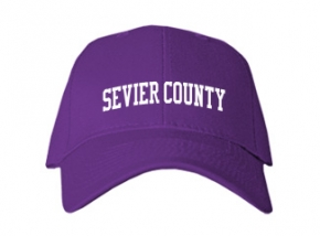 Sevier County High School Kid Embroidered Baseball Caps