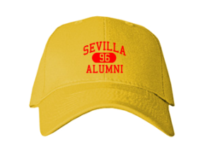 Sevilla Elementary School Embroidered Baseball Caps