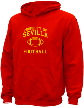 Sevilla Elementary School Kid Hooded Sweatshirts