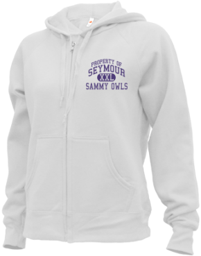 Seymour Middle School Zip-up Hoodies