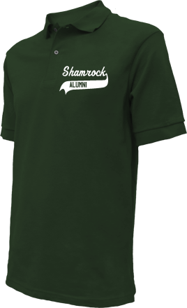 Shamrock High School Embroidered Polo Shirts