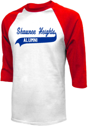 Shawnee Heights Junior High School Raglan Shirts