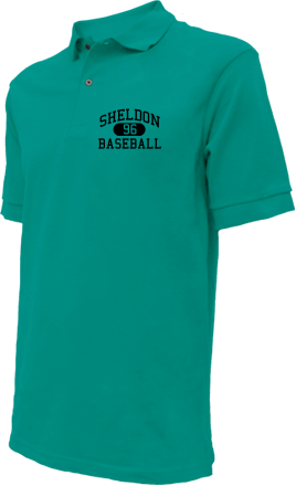 Sheldon High School Embroidered Polo Shirts
