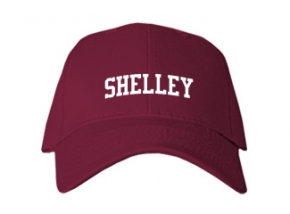 Shelley High School Kid Embroidered Baseball Caps