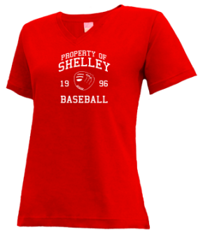 Shelley High School V-neck Shirts