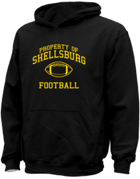 Shellsburg Elementary School Kid Hooded Sweatshirts