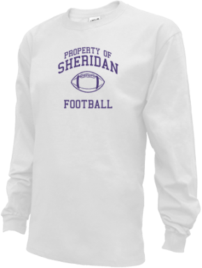 Sheridan High School Kid Long Sleeve Shirts