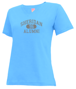 Sheridan High School V-neck Shirts