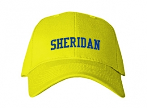 Sheridan Middle School Kid Embroidered Baseball Caps