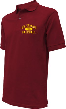 Sherman High School Embroidered Polo Shirts