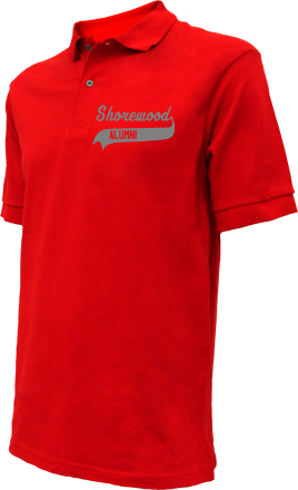 Shorewood Intermediate School Embroidered Polo Shirts