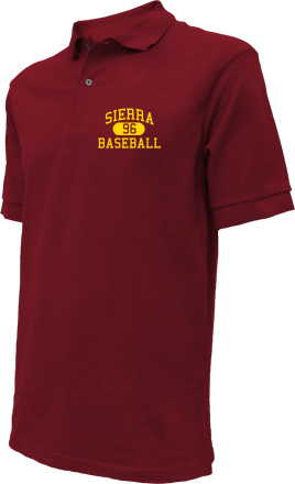 Sierra High School Embroidered Polo Shirts