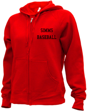 Simms High School Zip-up Hoodies