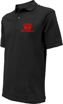 Simms High School Embroidered Polo Shirts