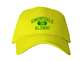 Simonsdale Elementary School Embroidered Baseball Caps