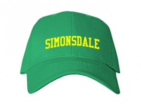 Simonsdale Elementary School Kid Embroidered Baseball Caps
