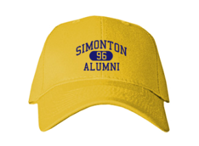 Simonton Elementary School Embroidered Baseball Caps