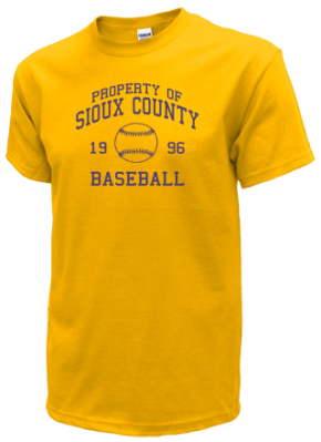Sioux County High School T-Shirts