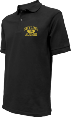 Skyline High School Embroidered Polo Shirts