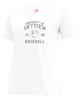 Skyview High School V-neck Shirts