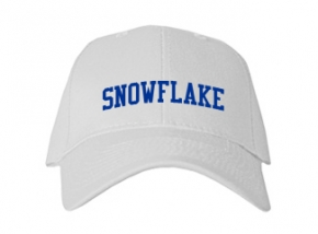 Snowflake High School Kid Embroidered Baseball Caps