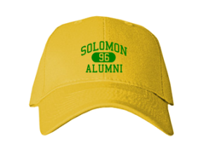 Solomon Elementary School Embroidered Baseball Caps