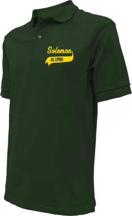 Solomon Elementary School Embroidered Polo Shirts