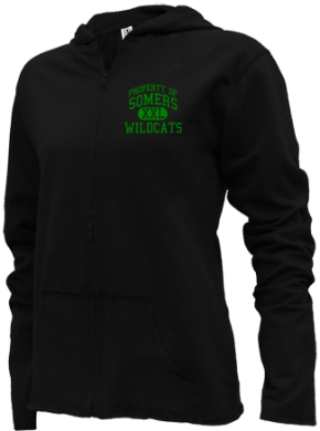 Somers Elementary School Girls Zipper Hoodies