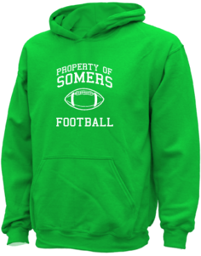 Somers Elementary School Kid Hooded Sweatshirts