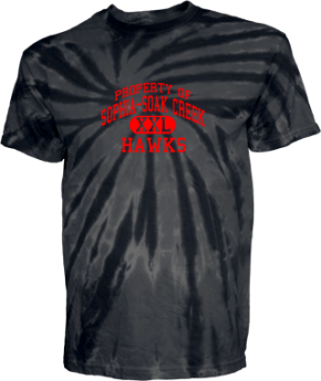 Sophia-soak Creek Elementary School Kid Tie-dye T-Shirts
