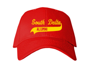 South Delta Middle School Embroidered Baseball Caps