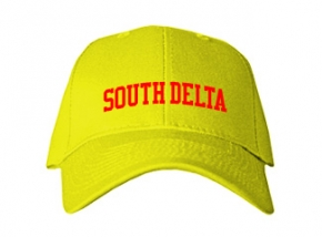 South Delta Middle School Kid Embroidered Baseball Caps