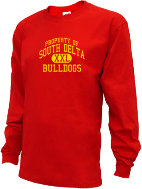 South Delta Middle School Kid Long Sleeve Shirts