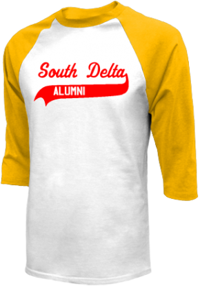 South Delta Middle School Raglan Shirts