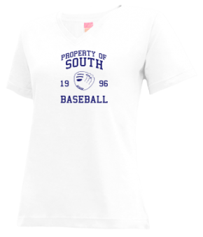 South High School V-neck Shirts