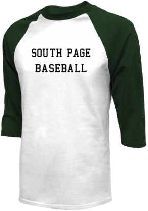 South Page High School Raglan Shirts
