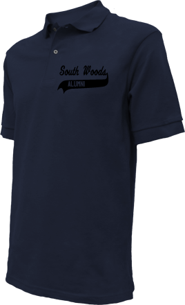 South Woods Elementary School Embroidered Polo Shirts