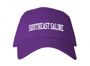 Southeast Saline High School Kid Embroidered Baseball Caps