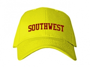 Southwest Junior High School Kid Embroidered Baseball Caps