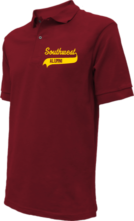 Southwest Junior High School Embroidered Polo Shirts