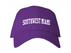 Southwest Miami High School Kid Embroidered Baseball Caps
