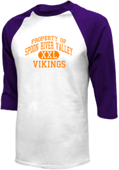 Spoon River Valley High School Raglan Shirts