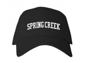Spring Creek High School Kid Embroidered Baseball Caps