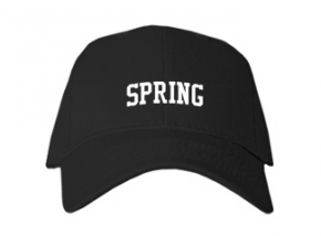 Spring High School Kid Embroidered Baseball Caps